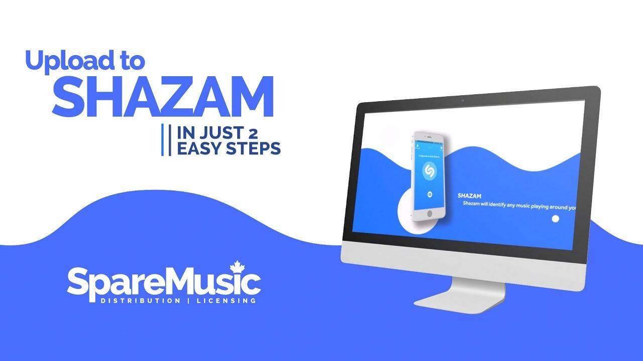 🖥️ HOW TO - Upload Music To SHAZAM Using SpareMusic com