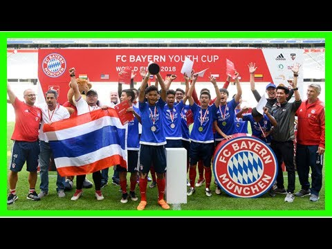 Breaking News | Thailand retain FC Bayern Youth Cup title - The 2018 German Champions