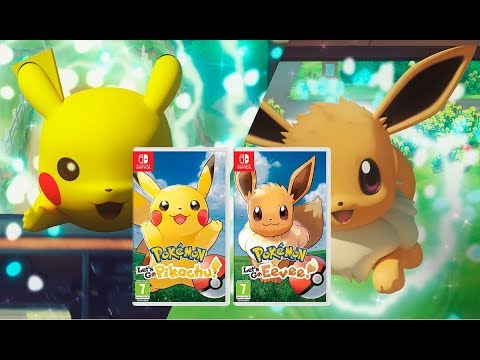 Pokemon Let S Go Pikachu And Let S Go Eevee Reveal Trendwiki