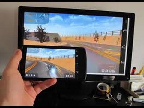 Connect Your Mobile To TV - Miracast/ HDMI- Mirror