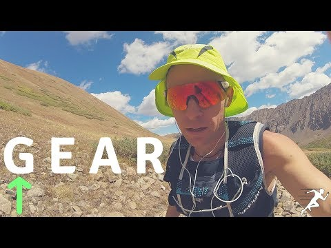 Summer Running Gear, what I wear for long runs and mountain runs