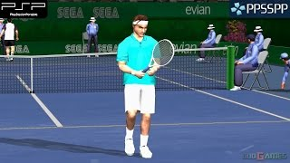 Virtua Tennis: World Tour - PSP Gameplay 1080p (PPSSPP)