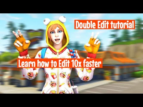 FORTNITE HOW TO DOUBLE EDIT/EDIT FASTER ON CONTROLLER/CONSOLE…BEST EDITING TIPS & BINDS