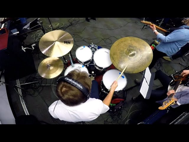Castle On The Hill (Live Cover) Drum Cam - Eric Vanier
