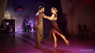 """Los Rosales (Liza Rosales и Juan Manuel Rosales) Tango En Vivo, 1-4, """"A Lesson Of Love"""" Planetango"""