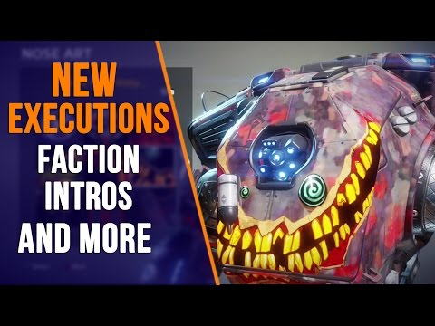 Titanfall 2: LIVE FIRE DLC EXECUTIONS, PRIME TITAN NOSE ART & FACTION INTROS