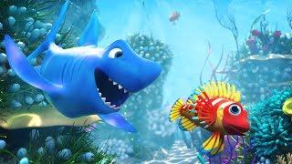 🐠 NEW 3D Baby Shark Doo Doo Doo Doo Song 2017 🐠  🐟  | 3D Baby Shark Song