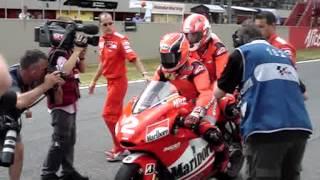 Randy Mamola and Piquet Jr