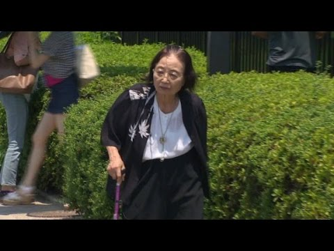 Hiroshima atomic bomb survivor