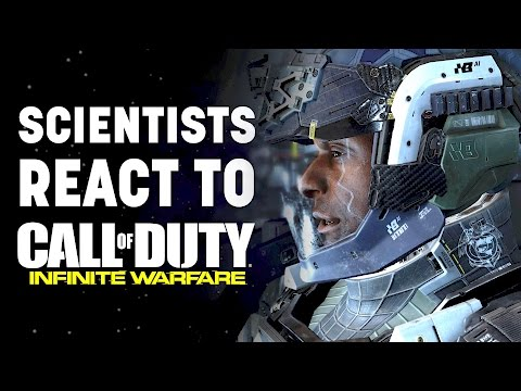 SCIENTISTS REACT to Call Of Duty Infinite Warfare! - Space Explorers Episode Episode 1