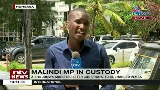 MP Aisha Jumwa arrested after gun drama in Kilifi