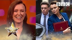 THIS Bodyguard line had Keeley Hawes in hysterics 😂  - BBC The Graham Norton Show