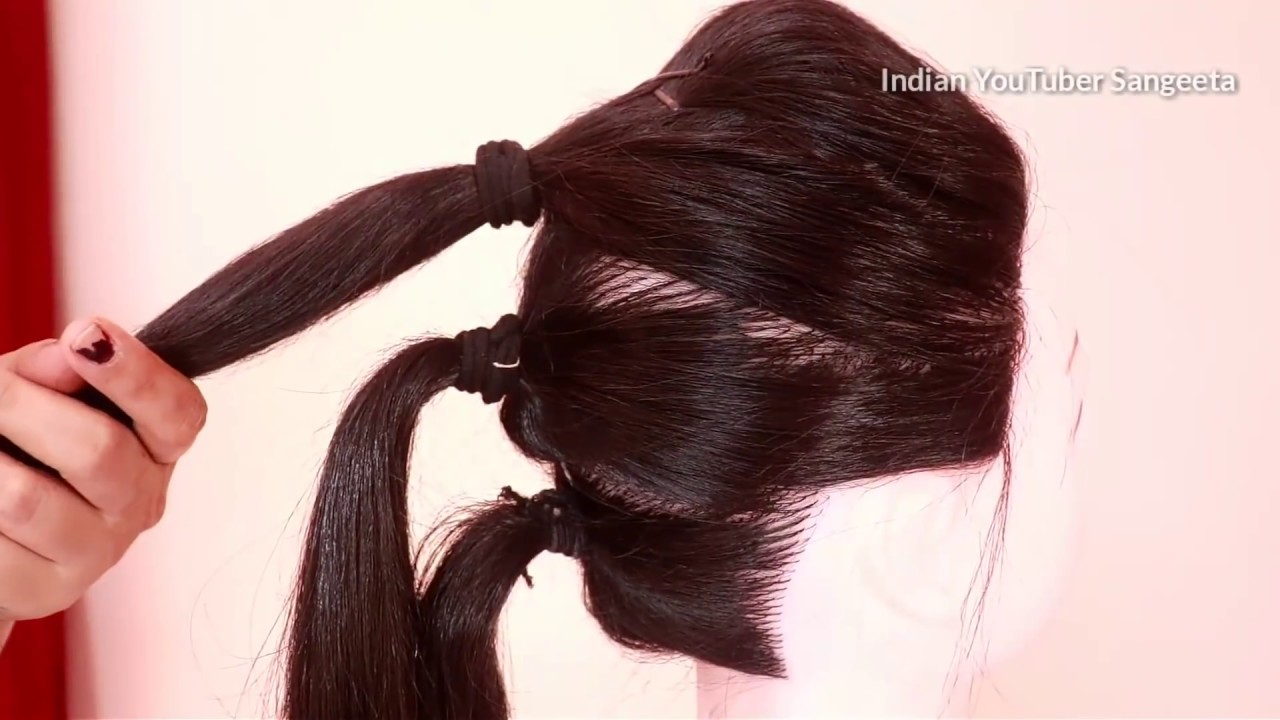 Very Easy Hairstyle For Wedding Easy Hairstyles For Long Hair Updo Hairstyle Simple Hairstyle