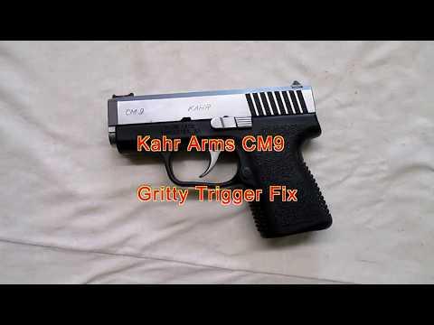 Kahr CM9 Gritty Triger Fix