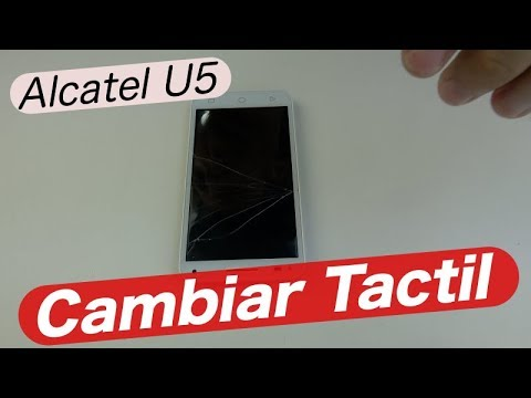 Alcatel U5 Touch Screen Replacement - YouTube