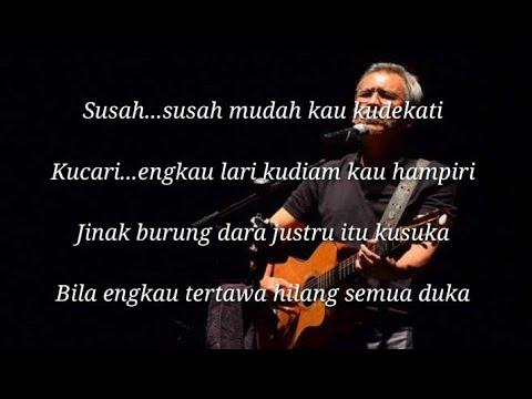 Free Download Lirik Lagu Aku Sayang Kamu -iwan Fals Mp3 dan Mp4