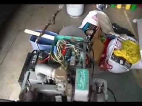 Onan 50CCK Generator With Automatic Transfer Panel Test - YouTube