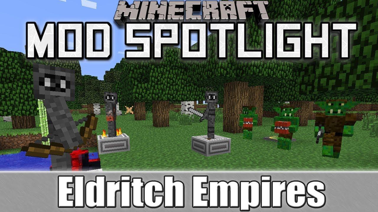 Скачать мод eldritch empires