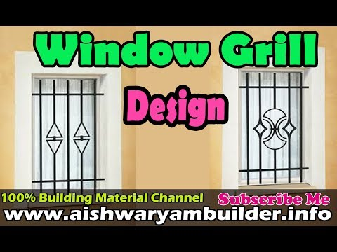 Window grill designs youtube for Window grill design kerala