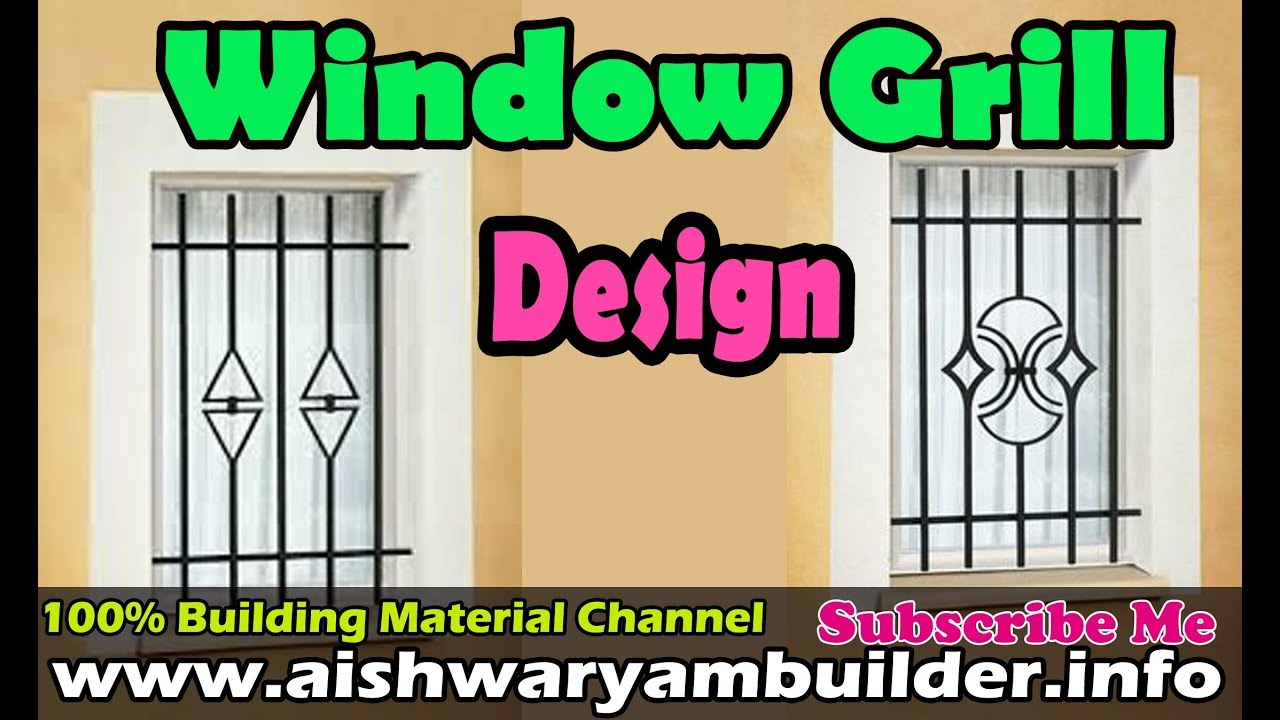Window grill designs house grill safety grill design for Window frame designs house design