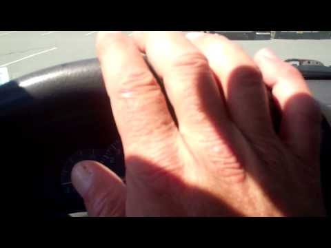 Symptoms of a worn wheel bearing while driving the vehicle