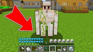 Minecraft - HOW to play VILLAGER GOLEM in Minecraft NOOB GOLEM vs PRO ZOMBIE Animation NOOB VS PRO