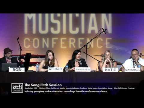 The Song Pitch Session w Bob Boilen - CD Baby DIY Musician Con '17