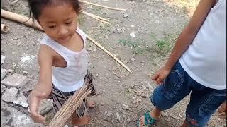 Pijat Anak Membantu Emak Main Ketoko