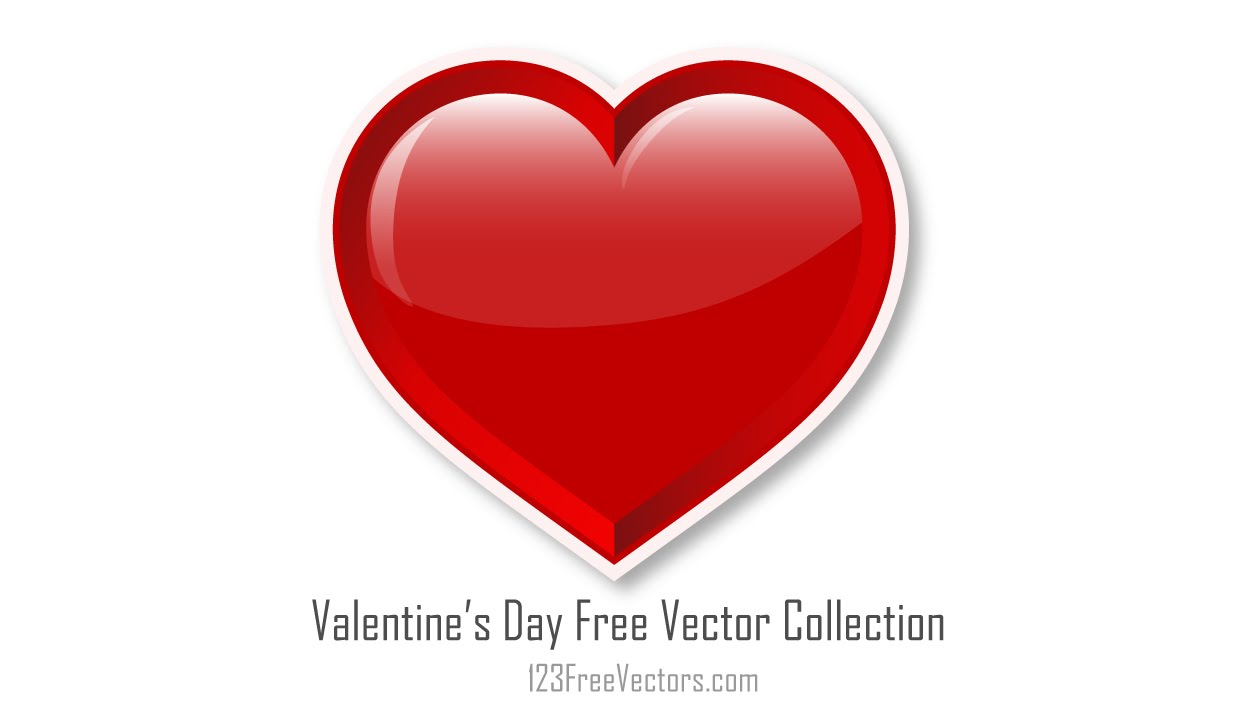 Valentine S Day Vector Free Download 123freevectors Com Youtube