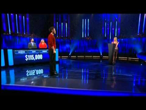 Trailer for James Holzhauer's episode of The Chase (September 2, 2014)