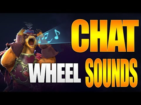 Dota 2 Seasonal Chat Wheel Sounds - TI9 Battle Pass