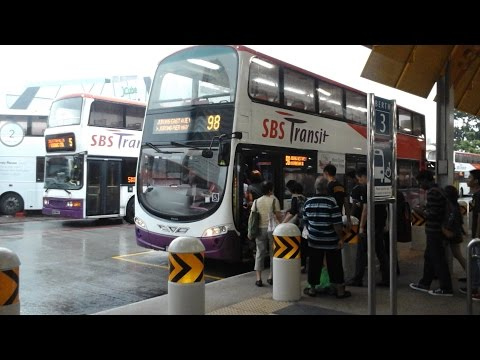 SBS Transit Service 98 Jurong East - Jurong Port Road (Loop) (Volvo B9TL Wright)