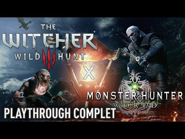 MH World x The Witcher 3 - TOUT le contenu du DLC