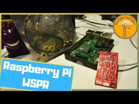 Lets Build! QRPGuys EZ WSPR Raspberry Pi Transmitter - Смотреть