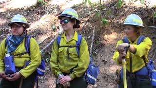 BLM Wyoming women's firefighter interview