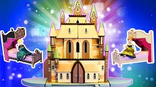 Frozen 3 Story Castle Of Arendelle Disney Store Exclusive Doll House Elsa And Anna Princess Toys
