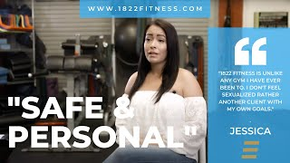 1822 Fitness   Client Testimonial   Personal Trainer Joel Molina   Ft. Jessica