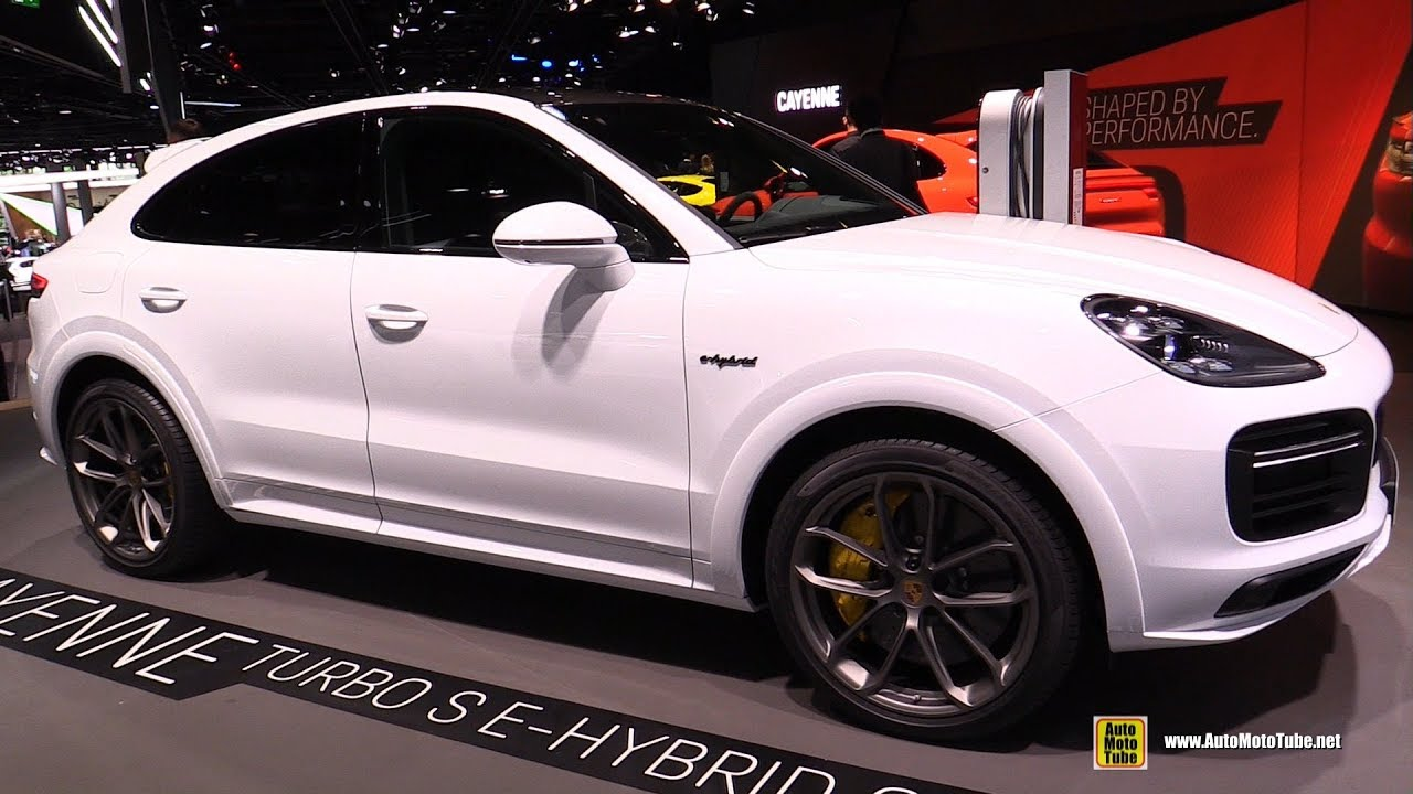 2020 Porsche Cayenne Turbo S E Hybrid Coupe Walkaround 2019 Frankfurt Motor Show Youtube