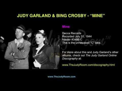 "Judy Garland & Bing Crosby - ""Mine"" - Decca Records Unreleased ""C"" Take"