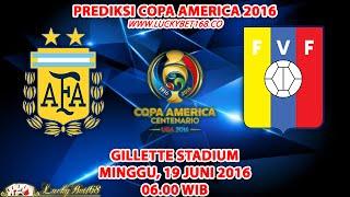 Prediksi Copa America 2016 Argentina vs Venezuela 19 Juni 2016