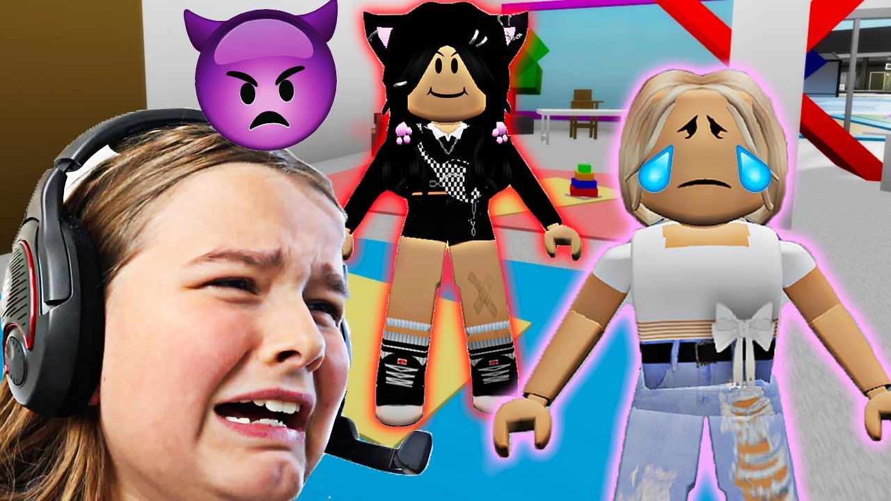 ADOPTING A MEAN DAUGHTER!! **BROOKHAVEN ROLEPLAY**