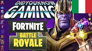Fortnite Battle Royale, la Storia - Did You Know Gaming ITA - Dacher