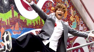 元SMAPの香取慎吾が、香港・中環のオールド・タウン・セントラルエ...