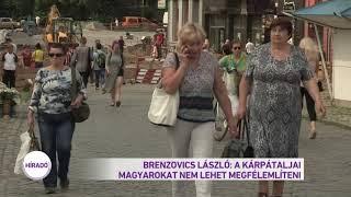 Brenzovics László: A kárpátaljai magyarokat nem lehet megfélemlíteni