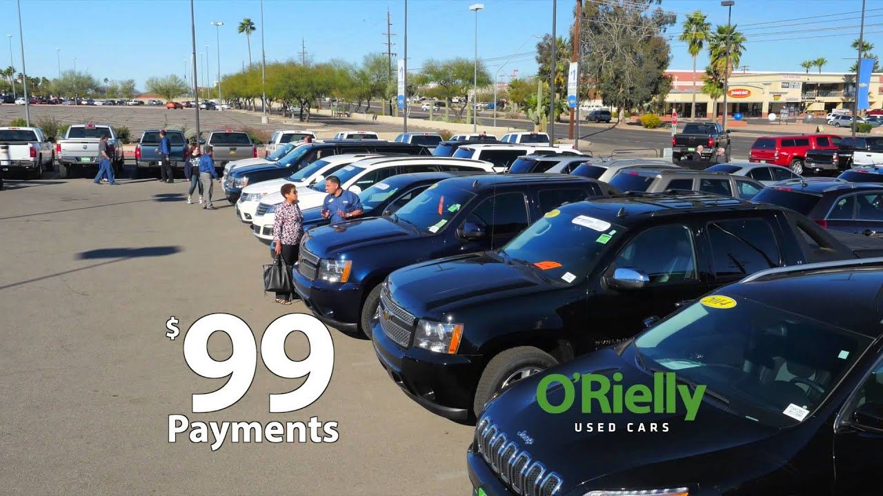 Get a Fresh Start (Paint Job) At O'Rielly Chevrolet Tucson AZ Your