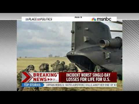 31 US troops killed as helicopter goes down - World news - South and Central Asia - Afghanistan