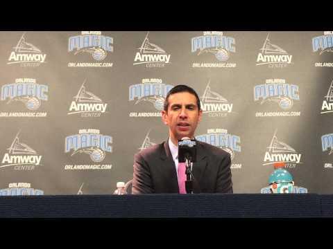 James Borrego Postgame Press Conference 4/8/15 vs Bulls