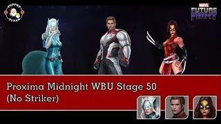 Captain America T3 vs Proxima Midnight WBU Stage 50 (No Striker)