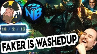 tobias Fate - FAKER IS WASHED UP..? GETTEM TOBIAS GETTEM!! ft. Nightlbue3 PG | League of Legends