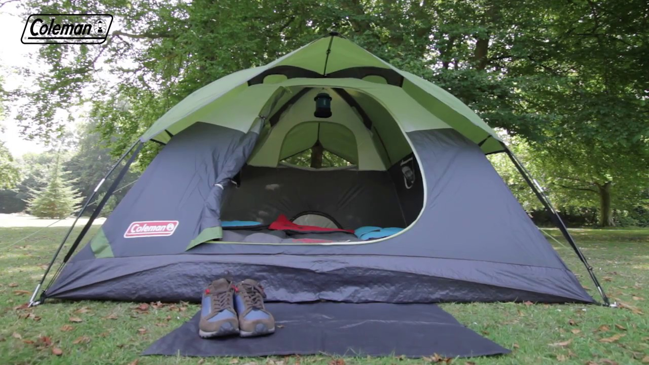 Coleman® Sundome 3 Person Tent - EN & Coleman® Sundome 3 Person Tent - EN - YouTube